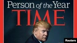 """""""Es un gran honor. Significa mucho"""", dijo Trump durante una entrevista telefónica con el programa Today de la cadena NBC."""