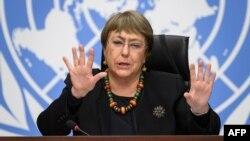Komisaris Tinggi PBB untuk HAM, Michele Bachelet