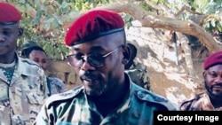 Colonel John Tshibangu, na image etiyamaki na ba réseaux sociaux, 18 janvier 2018. (Facebook)