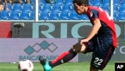 Mattia Destro, penyerang klub Roma (Foto: dok)