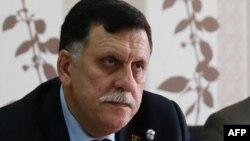 Le chef du gouvernement d'union nationale en Libye, Fayez al-Sarral, Tripoli, (Photo : 3 avril 2016).