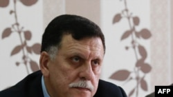 Fayez el-Sarraj, chef du gouvernement d'union nationale (GNA), Tripoli, le 3 avril 2016.