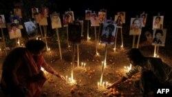 فسادات میں مرنے والوں کی برسی کے موقع پر منعقدہ ایک یادگاری تقریب
