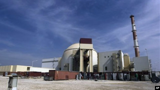 The reactor building of the Bushehr nuclear power plant  (file photo)