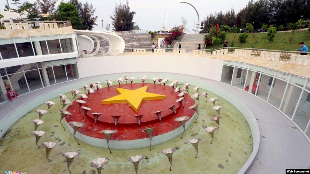 Khu tưởng niệm chiến sĩ Gạc Ma ở huyện Cam Lâm, tỉnh Khánh Hoà.