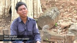 Cambodians Work to Recover Priceless Antiquities