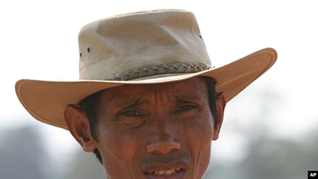 Chut Wutty, a prominent Cambodian anti-logging activist who helped expose a secretive state sell-off of national parks was fatally shot on April 25, 2012 in a remote southwestern province, FILE February 21, 2012.