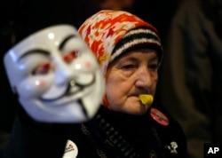 "Deseti protest ""Jedan od pet miliona"" u Beogradu, 9. februara 2019."