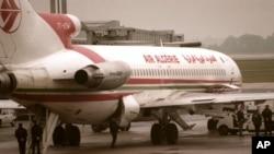 Mid ka mid ah Diyaaradaha Shirkadda Air Algerie