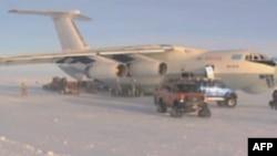 Dopremanje opreme u britansku naučnu bazu na Antarktiku