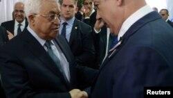 Palestinski predsednik Mahmud Abas i izraelski premijer Benjamin Netanjahu