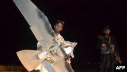 Бой вокруг обломков американского дрона