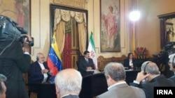 عکسی از دیدار شنبه غروب ظریف و مادورو