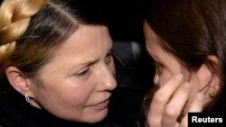 Юлия Тимошенко с дочерью