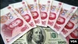 Ketegangan meningkat antara Beijing dan Washington dalam beberapa minggu ini atas nilai Yuan, yang telah dikaitkan pada dolar Amerika sejak tahun 2008