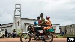 Urusengero Eglise du Christ i Mbandaka, ahagaragaye Ebola.