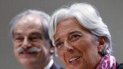 لوگارد وعده داد اصلاحات در صندوق بین المللی پول را پیش ببرد