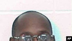 Georgia Department of Corrections handout photo of death row inmate Troy Davis who was scheduled to be put to death by lethal injection on September 23, 2008. Davis was granted a last-minute stay of execution by the US Supreme Court for the August 19, 198