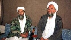 بن لادن به همراه الظواهری در سال ۲۰۰۱