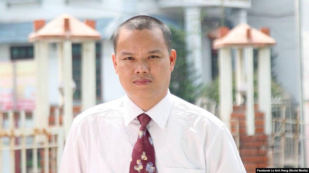 Blogger Lê Anh Hùng.