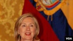 Menteri Luar Negeri AS Hillary Clinton