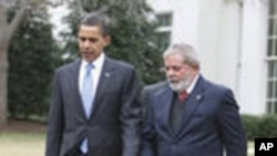 Obama, Lula Discuss Crisis