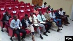 Reunião de jornalistas em Malanje (Arquivo)