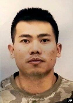 Foto Peter Van Bawi Lian yang dirilis Kepolisian Indianapolis.