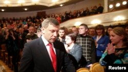 Ukraine Rebel Leader Sworn In After Disputed Election