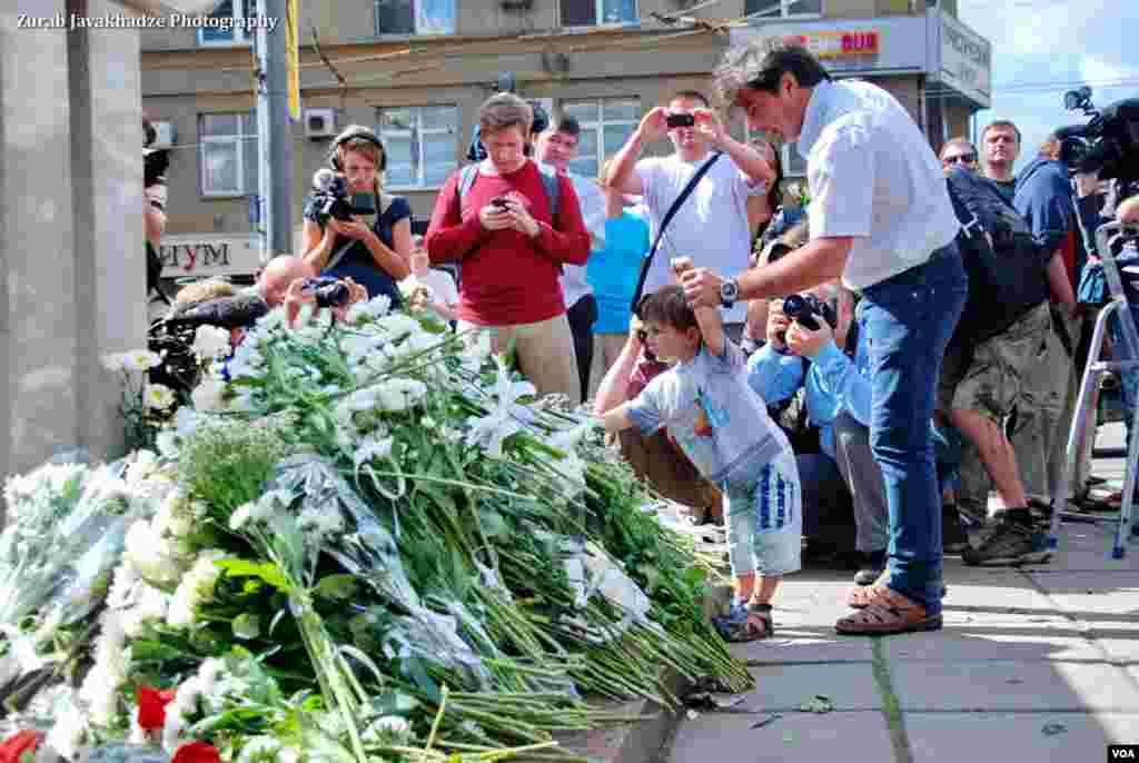 В Москве вспомнили события августа 1991 года