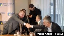 Sastanak opozicije u Srbiji (Vesna Andjic RFE/RL)