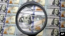 美國經濟大幅增長﹐美元強勁。