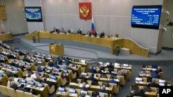 15일 러시아 하원이 자국에서 활동하는 외국 언론매체를 외국대행사로 간주하는 법안을 만장일치로 채택했다.