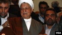伊朗前總統拉夫桑賈尼(資料圖片)
