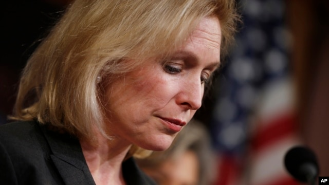 Senator Kirsten Gillibrand, following a Senate vote on military sexual assaults,  March 6, 2014.