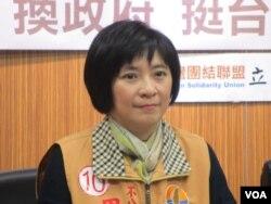 台聯黨立委周倪安(美國之音張永泰拍攝)