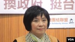 台联党立委周倪安(美国之音张永泰拍摄)