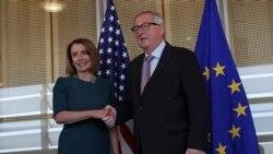 VOA: Pelosi reafirma apoyo de EE.UU. a aliados europeos