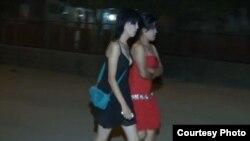 შუა აზიელი სექს-მუშაკები სოფელ გონიოს ქუჩებში