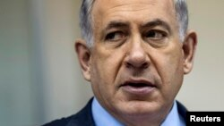 Firayim Ministan Israila Benjamin Natanyahu.