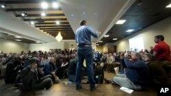 Iowa önseçimlerinin ardından zaman kaybetmeden New Hampshire'a geçen adaylardan biri de Texas Senatörü Ted Cruz
