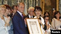 Burma's Aung San Suu Kyi on Tour of Europe