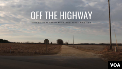 Banner for Off the Highway project