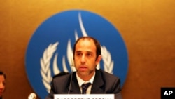 Special Rapporteur on human rights in Myanmar, Tomás Ojea Quintana