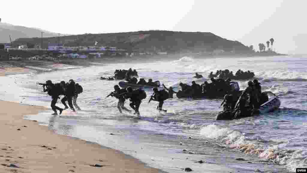 墨西哥陆战队演习抢滩(DVIDS photo)