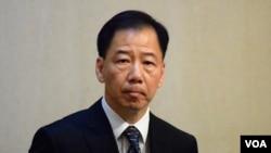 香港署理警務處處長黃志雄(VOA 湯惠芸攝)