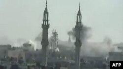حمله نیروهای سوریه به مواضع مخالفان