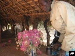 Veneração de N'Jinga Mbande
