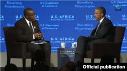 Takundwa tells Obama 'We're creating Zimbabwe's first free Internet-access network, hence liberating the Internet'.