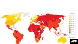 ایران در گزارش شاخص فساد جهانی در رده یکصد و بیستم قرار دارد